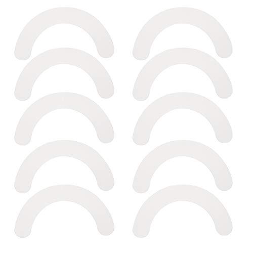 HEALLILY Stoma-Barriere-Streifen, gebogene Stoma-Paste, Anti-Leck-Hautbarriere, Fixierstreifen, Stoma-Pflege-Klebeband, 20 Stück