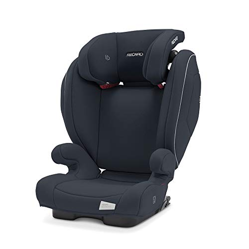 Recaro Kids, Monza Nova 2 SF Kindersitz für Kinder von 15-36 kg, Gruppe 2-3, für Kinder von 3,5 bis 12 Jahren, für Autos mit und ohne ISOFIX-System, Integriertes Soundsystem, Prime Mat Black