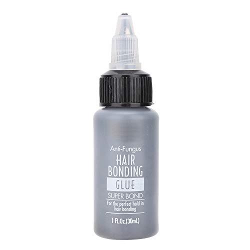 Haarkleber, Anti-Allergie-Haarkleber Haarteil Perücke Haarverlängerung Gelkleber für professionellen Salon(30ml)