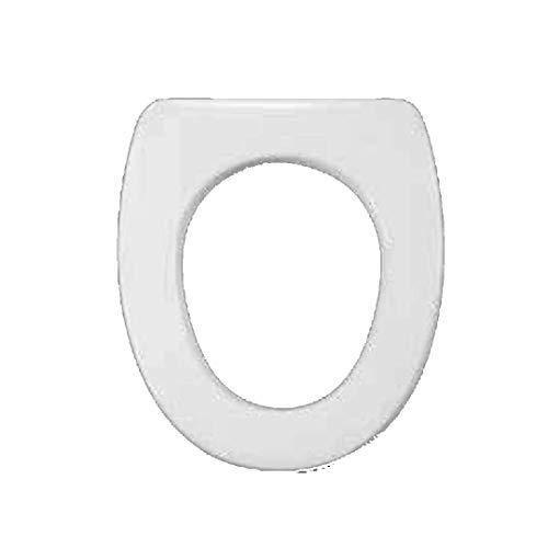 Copriwater dedicato per Serie 4All Globo in Resina Poliestere colata Bianco Lucido - Coperchio Sedile tavoletta per WC - Massima qualita' Garantita