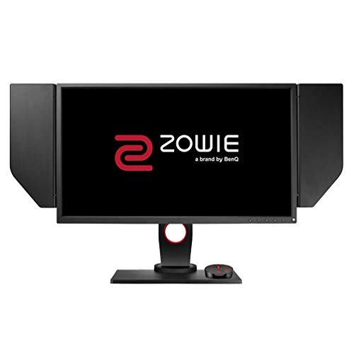 BenQ ZOWIE XL2536 62,20 cm (24,5 Zoll) e-Sports Gaming Monitor (DyAc, Höhenverstellung, S Switch, Black eQualizer, Shield, 1ms Reaktionszeit, 144Hz) grau