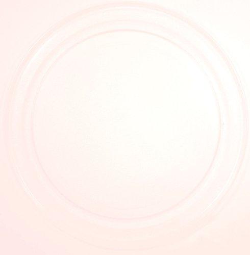 Mikrowellenteller / Drehteller / Glasteller für Mikrowelle # ersetzt Superior Mikrowellenteller # Durchmesser Ø 36 cm / 360 mm # Ersatzteller # Ersatzteil für die Mikrowelle # Ersatz-Drehteller # OHNE Drehring # OHNE Drehkreuz # OHNE Mitnehmer