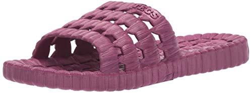 TECS PVC Slide Sandals for Women, Beach Flip Flip & Lightweight Water...