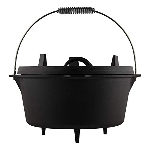 The Windmill cast ironTHE ORIGINAL Dutch Oven (Feuertopf) 9Qt / 8,5L