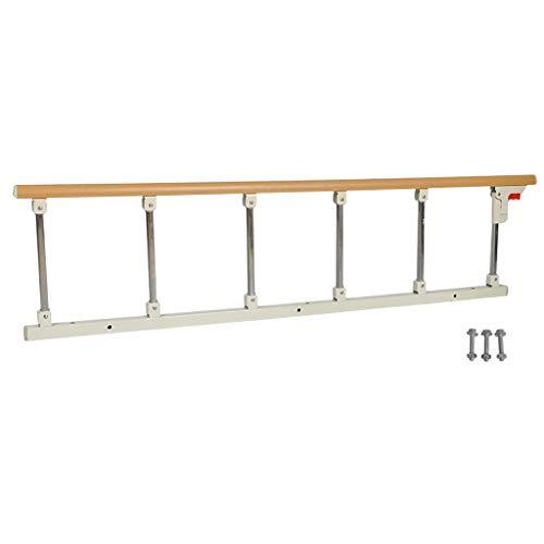 LWJJHJ Bed Rail voor Ouderen - Bed Zijleuning, Inklapbare Handicap Bed Grab Rail - Geperforeerde installatie