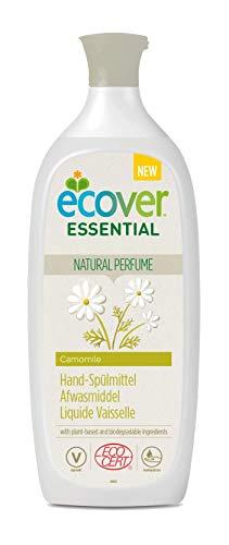 Ecover Liquide Vaisselle Parfum Camomille | Origine Naturelle Éco-Responsable Et Doux Pour Votre Peau | Certifié Biologique Ecocert | 1L