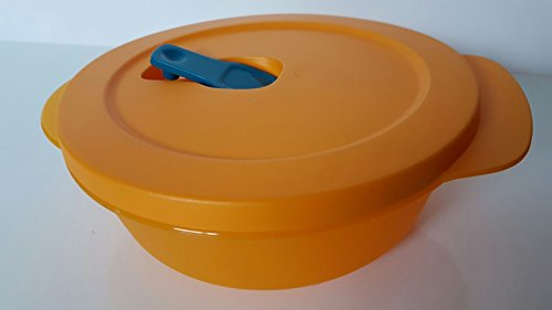 Tupperware Mikrowelle Mikro-Fix 600ml orange Schüssel mit Deckel Premeal Gefriertruhe Büro
