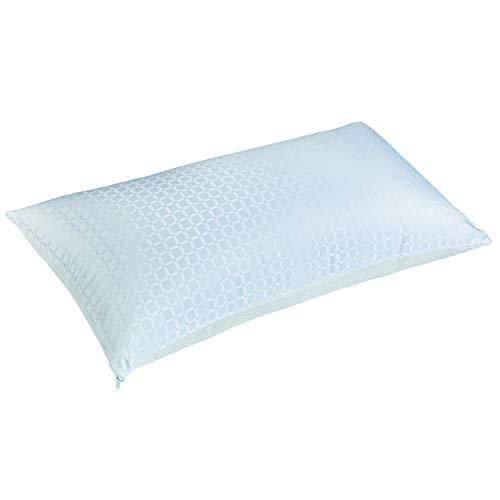 Almohada de Fibra PIKOLIN I Firmeza Alta I Funda Microfibra Lavable I Hipoalergénica I Malla 3D Ultra ventilación I Iron MAX 150cm I (Todas Las Medidas)