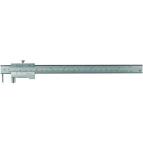 RB strumenti di misurazione–Truschino con rotella, graduazione 0,1mm, campo di misurazione 0–200mm, 1pz, 991104