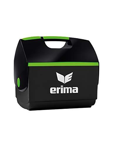 Erima Erwachsene Eisbox, schwarz/Green Gecko, 10 l
