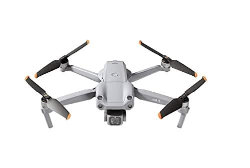 DJI Air 2S- Drone, Quadcopter, 3 Ejes Gimbal con Cámara, Vídeo en 5.4K, Sensor CMOS de 1 pulgada, Detección de obstáculos en 4 direcciones, Transmisión en FHD desde 12 km (FCC), MasterShots, Gris