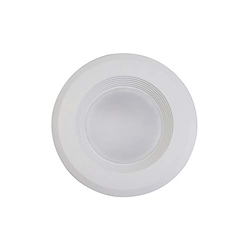 Catalina Lighting 20231-000 Ellumi Shower Ceiling Light LED Antibacterial Disinfection System, 5'/6' Retrofit Recessed Kit, White