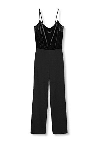 ESPRIT Damen Jumpsuits, Schwarz - 3