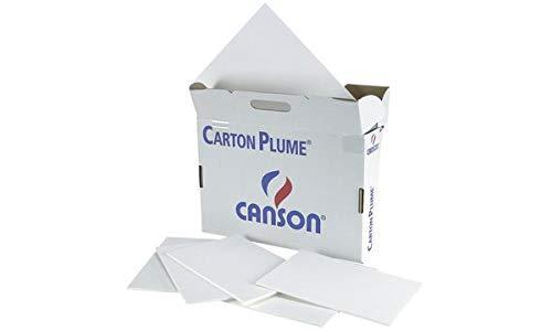 Canson 5154222 - Paquete de 28 paneles de gomaespuma A3, blanco
