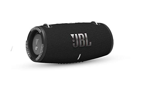 JBL Xtreme 3: Portable Speaker with Bluetooth, Built-in Battery, Waterproof and Dustproof Feature, and Charge Out - Black