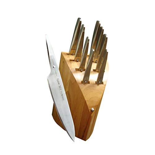 Chroma 9-Piece Knife Set with Block and Whetstone