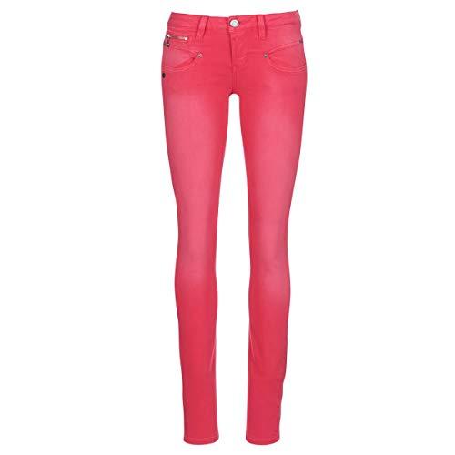FREEMAN T.PORTER Alexa Slim Magic Color Pantalones Mujeres Rosa - L - Pantalones con 5 Bolsillos
