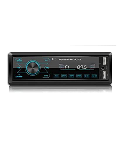 Coche Bluetooth Reproductor de MP3 Auto Radio Reproductor Multimedia Radio de Coche Pantalla táctil Bluetooth FM Reproductor de Audio automático Estéreo