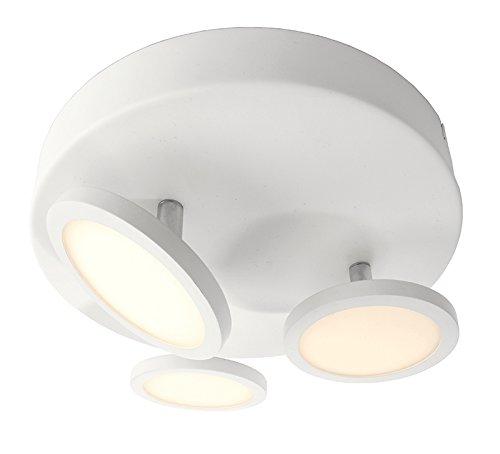Zoomoi - spots plafondlamp - LED - incl. lamp - woonkamer - GU10 - mat wit - plafondspots 2lights