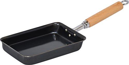 和平フレイズ フライパン だし巻き 厚焼き 玉子焼き器 厳選素材 12×17cm 黒皮鉄 日本製 GR-9746