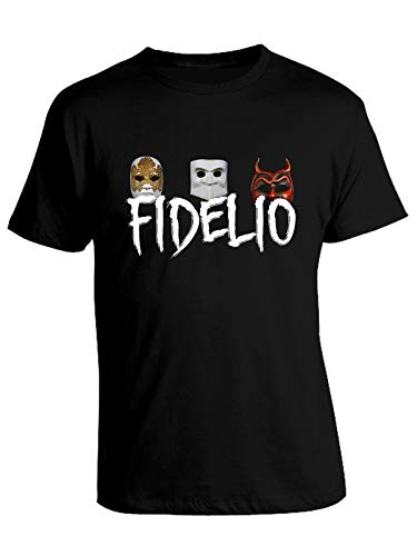 Tshirt Film Cult Eyes Wide Shut - Fidelio - Mask - in Cotone