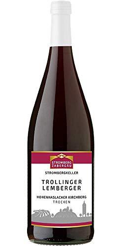 STROMBERGKELLER 2018er Hohenhaslacher Kirchberg Trollinger mit Lemberger QbA tro. trocken (1 x 1 l)