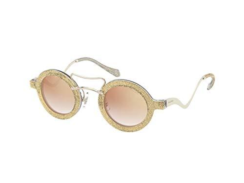 Miu Miu Sonnenbrille MU-02VS 155AD2 rose gold größe 39-mm-brillen-frau