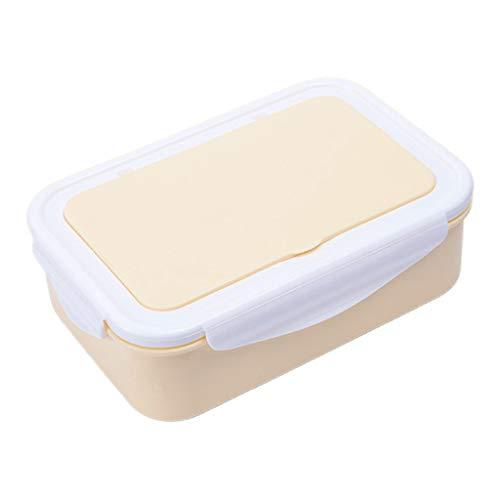YU-HELLO Caja Bento de gran capacidad, se puede calentar en un horno de microondas, caja de Bento sellada a prueba de fugas, fiambrera para estudiantes y personal de oficina