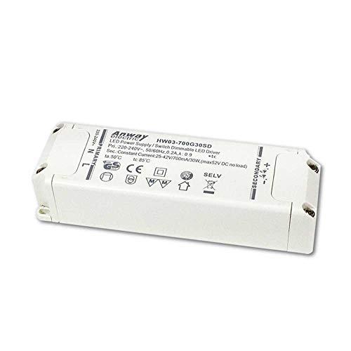 Anway LED driver HW03-700G30SD 30W 700mA 25-42V