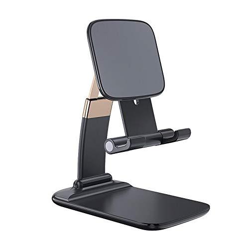 Suporte Premium Para Smartphone/Tablet Ajustável Cor Preto