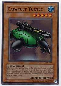 Yu-Gi-Oh! - Catapult Turtle MRD-075 1st Edition Super Rare Metal Raiders