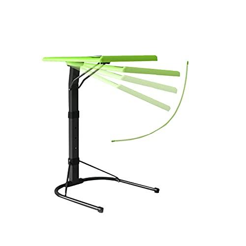 Lixiabeidai Mesa de Ordenador portátil Ajustable para Escritorio, Soporte también para sofá, Mesa Auxiliar, Escritorio para Ordenador portátil,Green
