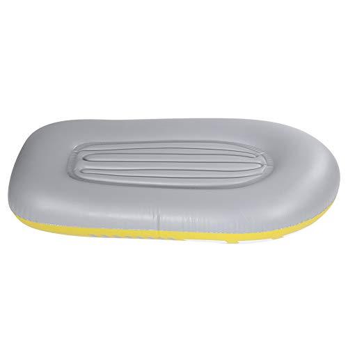 Weikeya Barco Inflable Adecuado, excursión en Barco Inflable PVC Hecho (Amarillo)