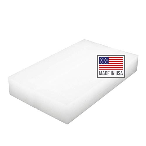 Blended Waxes, Inc. 1 lb. Block - Household Paraffin Wax for Canning, Candle Making, Metal Preservation, Waterproofing, and A Variety of Other Applications (1lb. - 2 Blocks)