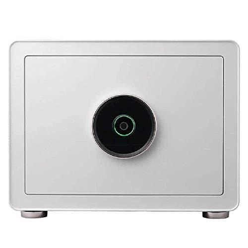 XiYou Caja de Seguridad Segura, depósito Digital de Huellas Dactilares de 30 cm Hogar en la Pared Oficina Invisible Mesita de Noche para Dormitorio con desbloqueo de Huellas Dactilares pequeñas