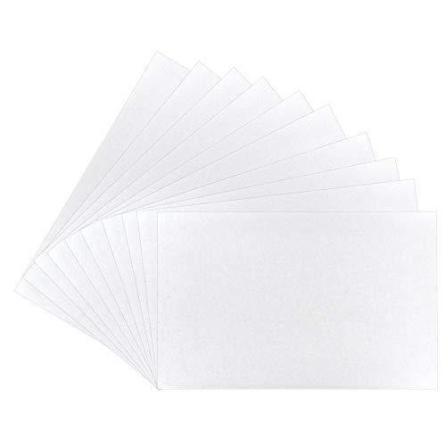 Ideen mit Herz Malkartons in Akademie-Qualität | Malpappe | Grundierte Leinwand-Pappe (30 x 40 cm | 10 Stück)