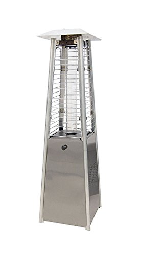 Sunheat International Tabletop Propane Patio Heater Finish: Stainless Steel