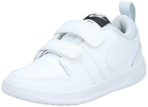 Nike Pico 5 (PSV), Tennis Shoe, Blanco White White Pure Platinum 100,...