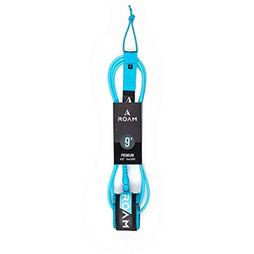 Roam Tabla de Surf Leash Premium 6.0 183cm 7mm Azul