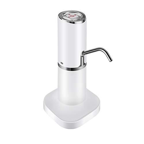 XIAOPENG Trinkwasserpumpe, Silikon-Schlauch, Edelstahl-Outlet Rohr, hochwertiges ABS-Material, Desktop-Ständer, Geeignet for Heim (Color : Silver)