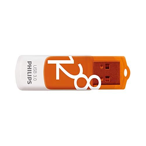 Philips Vivid 3.0 USB Stick 128GB- High Speed Flash USB Speicher Stick 128 GB - Lesen: 170 MB/s, Schreiben: 20 MB/s