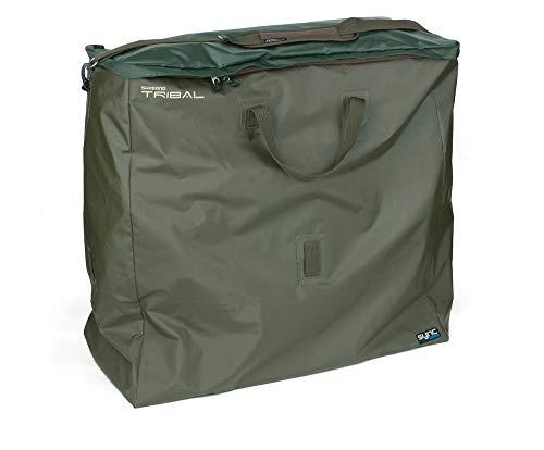 SHIMANO Tribal Sync Gear, Angler Betttasche, Anglerzubehör Tasche, 90x86x38cm, Karpfenliegentasche, SHTSC30