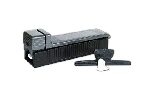 Anik-Shop ZIGARETTENSTOPFMASCHINE Zigarettenstopfer Zigarettenmaschine Stopfer 5 Farben 428 (Grau)