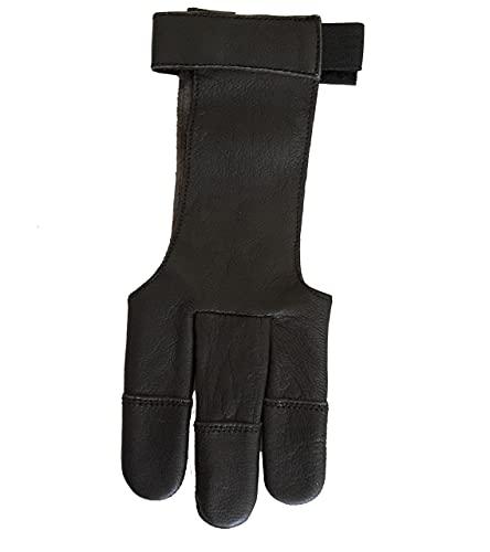 Schießhandschuh, Bogenhandschuh Halona Black.Bulls Grösse: XS-XL f. Bogensport (XL)