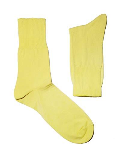 Weri Spezials Herren Ges&heits Socken Baumwolle Diabetiker mit dem weichen Rand ohne Gummi (43-46, Vanilla)