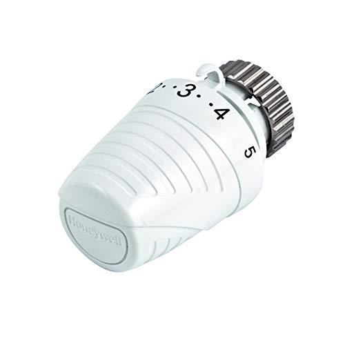 Honeywell Thera-4 Classic T3001W0 - Testa Termostatica con sensore integrato per radiatori con attacchi M30 x 1.5, Corsa di chiusura 11.5 mm, Bianco