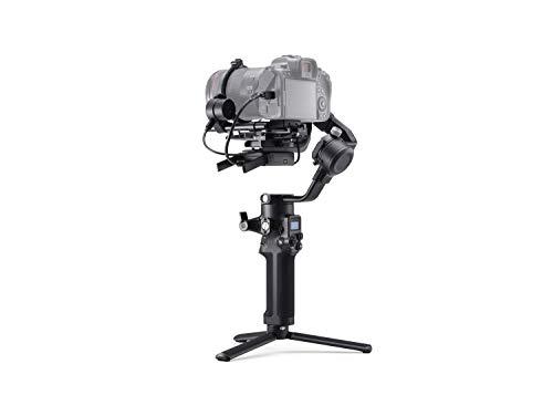 DJI RSC 2 Pro Combo - 3-Achsen-Stabilisator-Gimbal für spiegellose und DSLR-Kameras, Nikon Sony Panasonic Canon Fujifilm, Ronin SC, 3kg Zuladung, Bildübertragungsgerät, Focus Motor - Schwarz