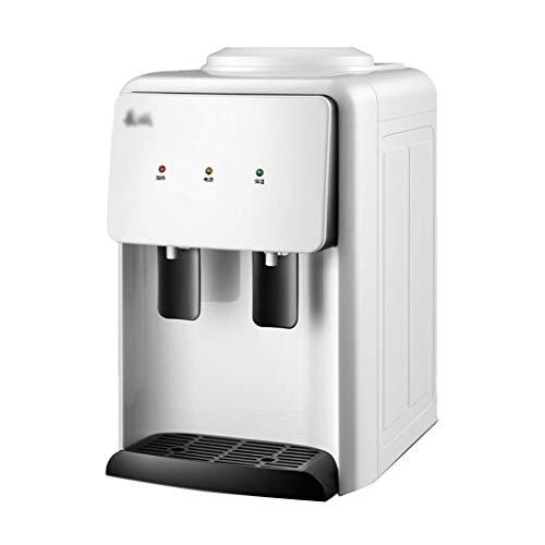 UWY Distributeur de Refroidisseur d'eau de comptoir à Chargement Chaud/Froid de qualité supérieure - Eau Chaude et Froide, Mini Distributeur de Refroidisseur d'eau, idéal pour Le Bureau à domi