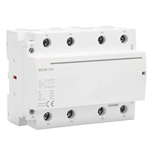 Contactor de AC del Hogar 4P 4NO / 4NC 100A 110V 50...