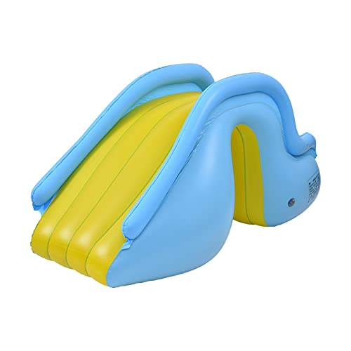 Funny Inflatable Waterslide - Kids Swimming Pool Inflatable Slide Supplies...